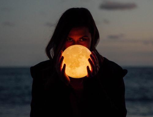Acto psicomágico de limpieza energética en luna llena